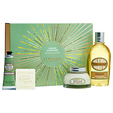 Buy L'Occitane Delicious Almond Bath & Body Gift Set Online at johnlewis.com