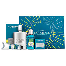 Buy L'Occitane L'homme Cologne Cedrat Gift Set Online at johnlewis.com