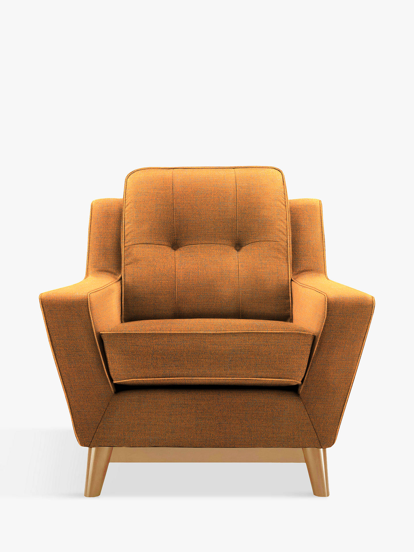 G Plan Vintage The Fifty Three Armchair, Flurry Tangerine