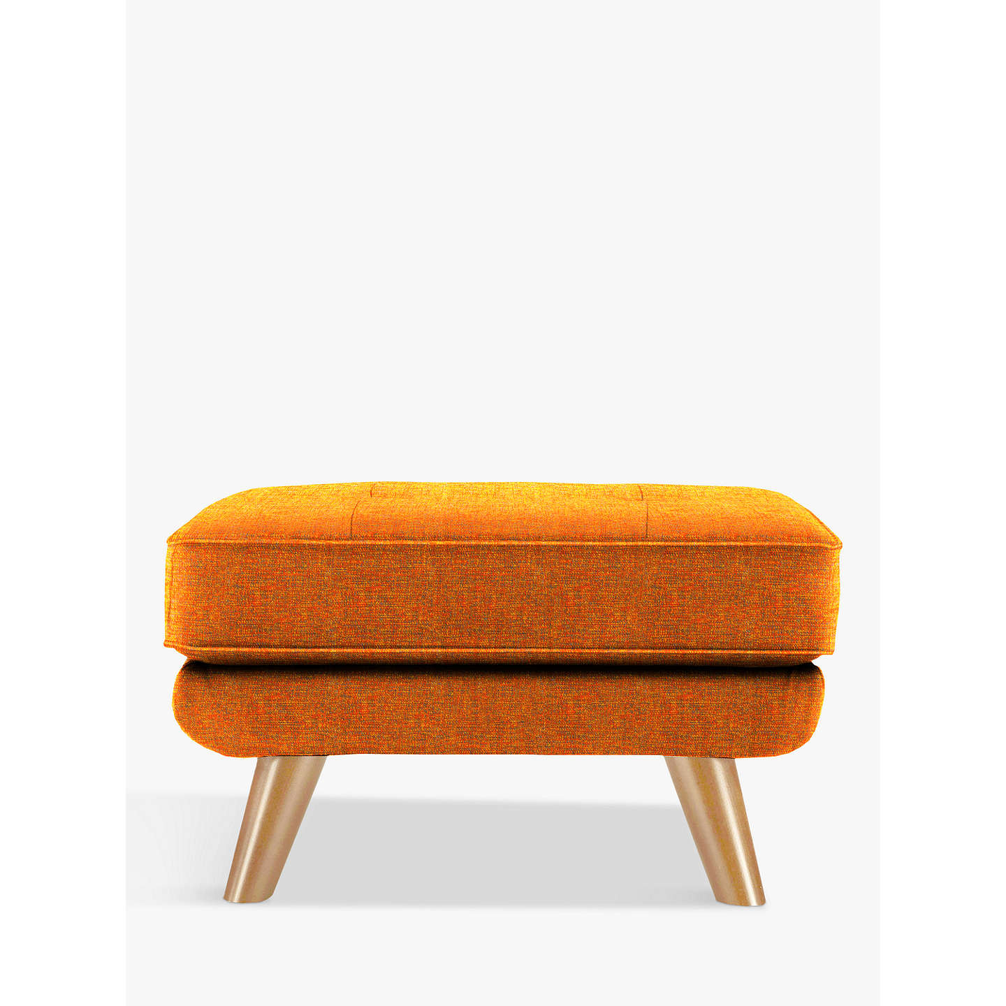 BuyG Plan Vintage The Fifty Three Footstool, Marl Flame Online at johnlewis.com