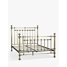 Buy John Lewis Banbury Bed Frame, King Size, Antique Brass Online at johnlewis.com