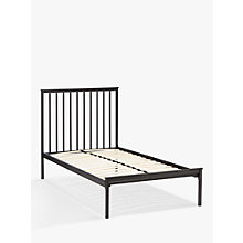 Buy John Lewis Franklin Child Compliant Bed Frame, Single, Black Online at johnlewis.com
