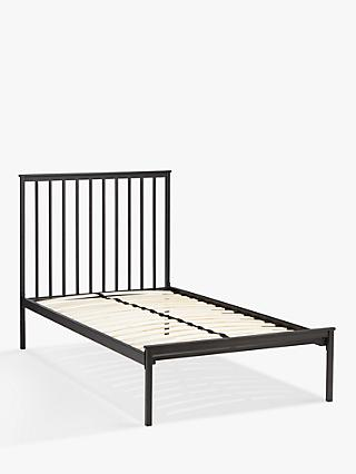 John Lewis & Partners Franklin Child Compliant Bed Frame, Single, Black