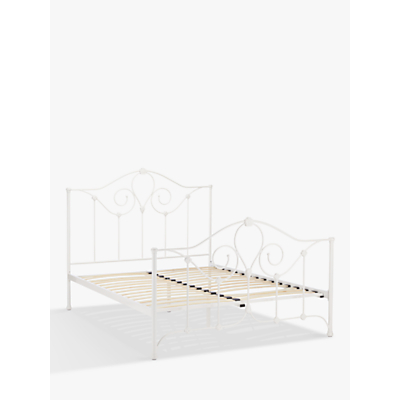 John Lewis & Partners Nayna Bed Frame, Double, White