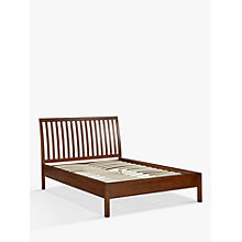 Buy John Lewis Medan Bed Frame, King Size, Dark Wood Online at johnlewis.com