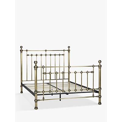 John Lewis Banbury Bed Frame, Super King Size, Antique Brass