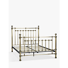 Buy John Lewis Banbury Bed Frame, Super King Size, Antique Brass Online at johnlewis.com