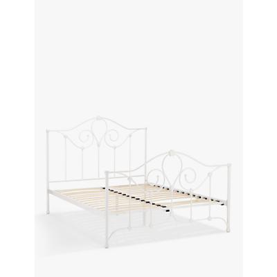 John Lewis Nayna Bed Frame, King Size, White