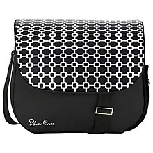 Buy Silver Cross Pioneer Links Changing Bag, Black Links Online at johnlewis.com
