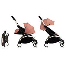 Buy Babyzen Yoyo+ Pushchair, White/Ginger Online at johnlewis.com