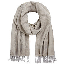 Buy Gerard Darel Emily Scarf, Beige Online at johnlewis.com