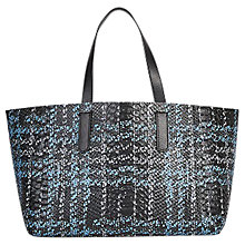 Buy Gerard Darel Mini Simple 2 Tote Bag, Black/Blue Online at johnlewis.com
