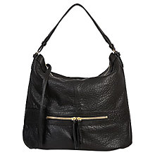 Buy Gerard Darel Midday GD Tassel Shoulder Bag, Black Online at johnlewis.com