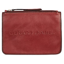 Buy Gerard Darel Pocket Leather Pouch Online at johnlewis.com
