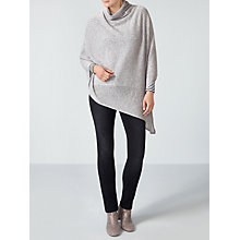 Buy Pure Collection Soft Cowl Cashmere Poncho Online at johnlewis.com