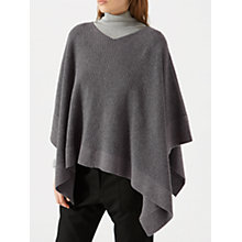 Buy Jigsaw Knitted Ribbed Poncho Online at johnlewis.com