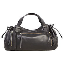 Buy Gerard Darel Le Rebelle GD Leather Bag, Black Online at johnlewis.com