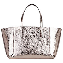 Buy Gerard Darel Simple 2 Tote Bag, Silver Online at johnlewis.com