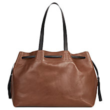 Buy Gerard Darel Le Simple 2 Bis Leather Bag, Camel Online at johnlewis.com