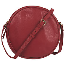 Buy hush Aveline Cross Body Bag, Red Online at johnlewis.com
