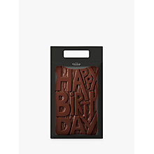 Buy Hotel Chocolat Milk Chocolate Happy Birthday, 500g Online at johnlewis.com