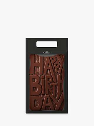 Hotel Chocolat Milk Chocolate Happy Birthday, 500g