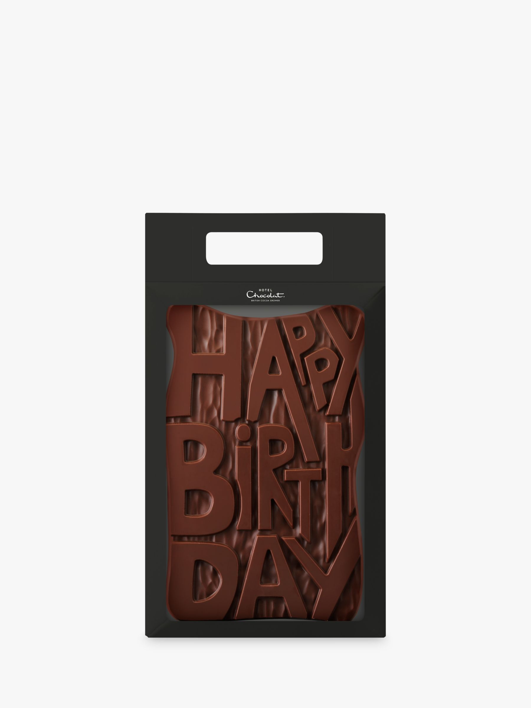 Hotel Chocolat Hotel Chocolat Milk Chocolate Happy Birthday, 500g