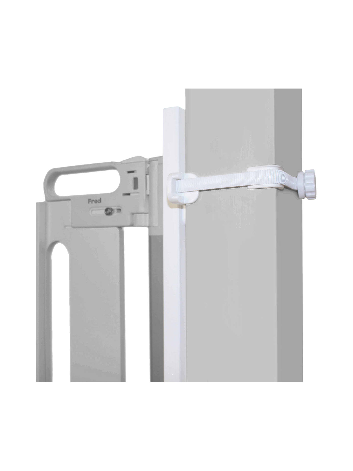 BuyFred Universal Stairpost Fitting Kit, White Online at johnlewis.com