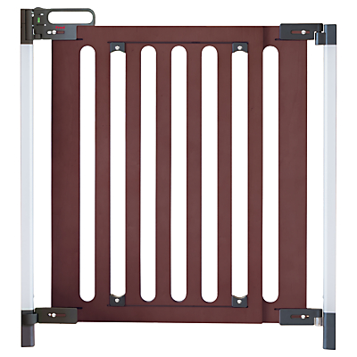 Fred Screw Fit Dark Wood Safety Gate