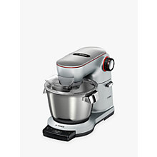 Buy Bosch MUM9GT4S00 OptiMUM Kitchen Machine Food Mixer, Silver Online at johnlewis.com