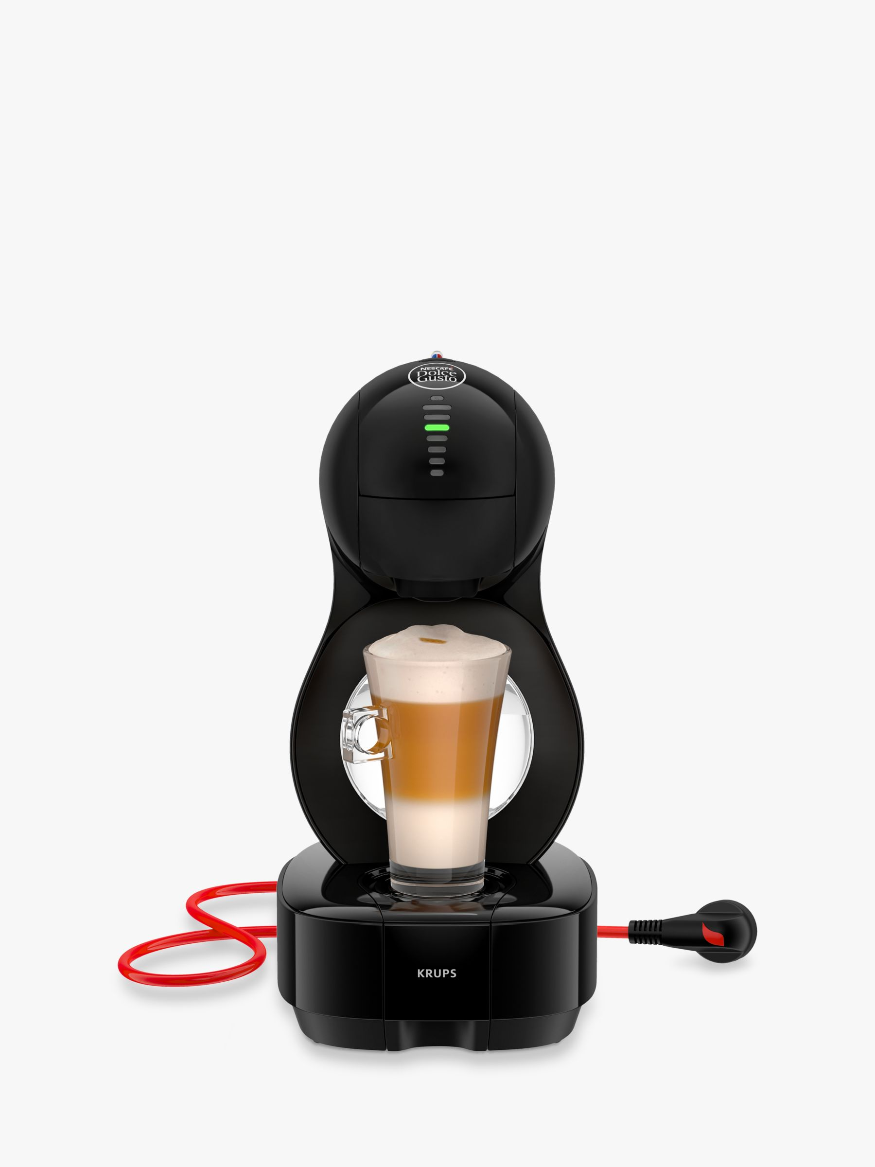 dolce gusto lumio coffee machine by krups black bluewater. Black Bedroom Furniture Sets. Home Design Ideas