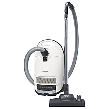 Buy Miele Complete C3 Silence EcoLine Vacuum Cleaner, White Online at johnlewis.com