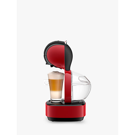 buy dolce gusto lumio coffee machine by krups red john lewis. Black Bedroom Furniture Sets. Home Design Ideas