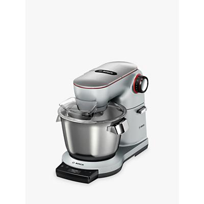 Bosch MUM9GX5S21 OptiMUM Kitchen Machine Food Mixer with ThermoSafeglass Blender, Silver