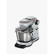 Buy Bosch  MUM9GX5S21 OptiMUM Kitchen Machine Food Mixer with ThermoSafeglass Blender, Silver Online at johnlewis.com