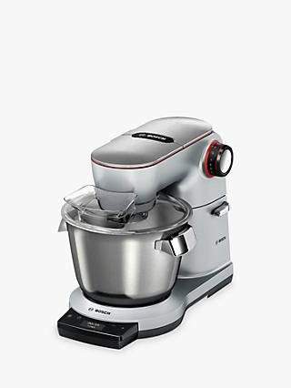 Bosch  MUM9GX5S21 OptiMUM Kitchen Machine Food Mixer with ThermoSafeglass Blender, Silver
