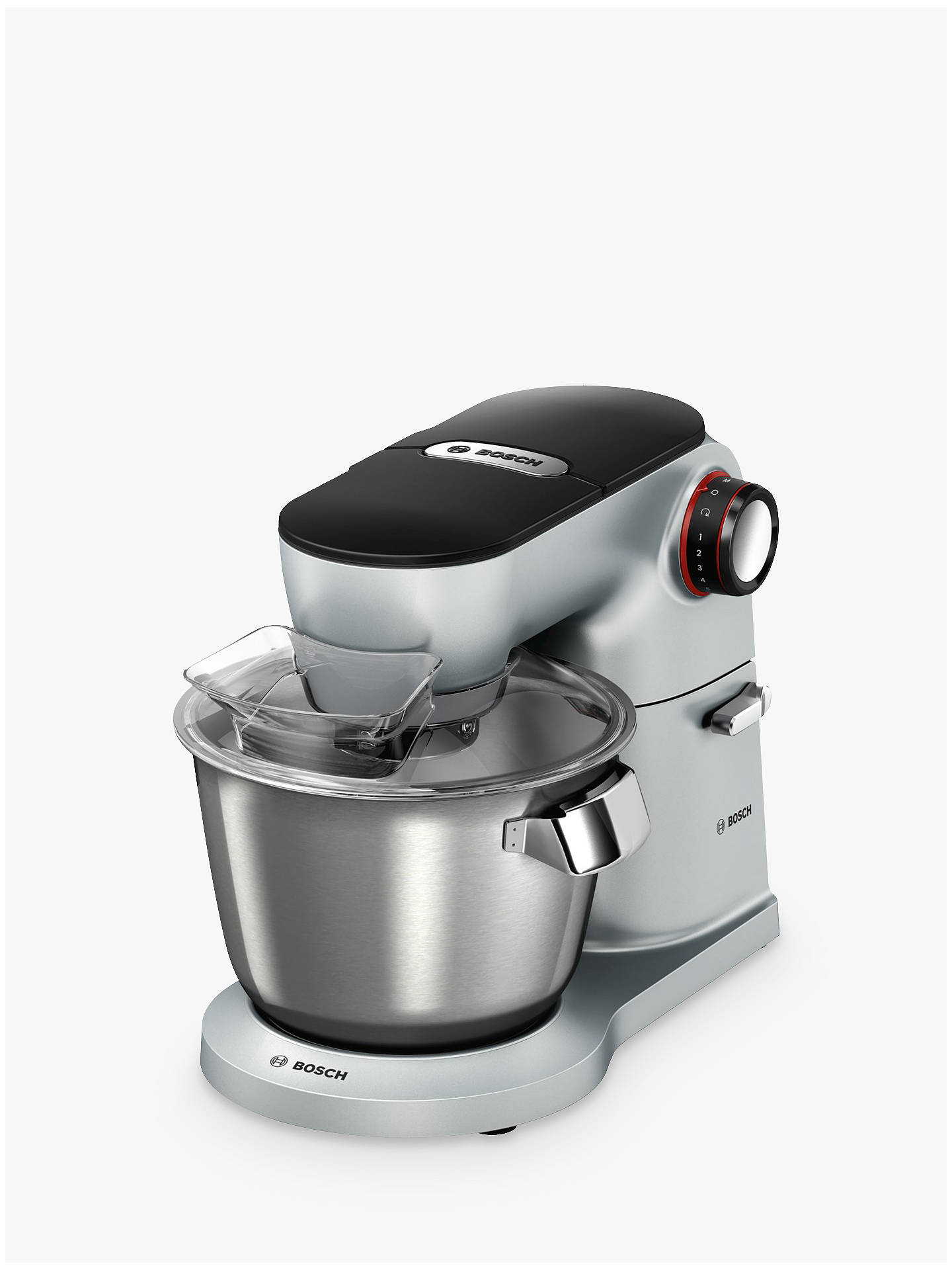 Buy Bosch MUM9G32S00 OptiMUM Kitchen Machine Food Mixer, Silver Online at johnlewis.com