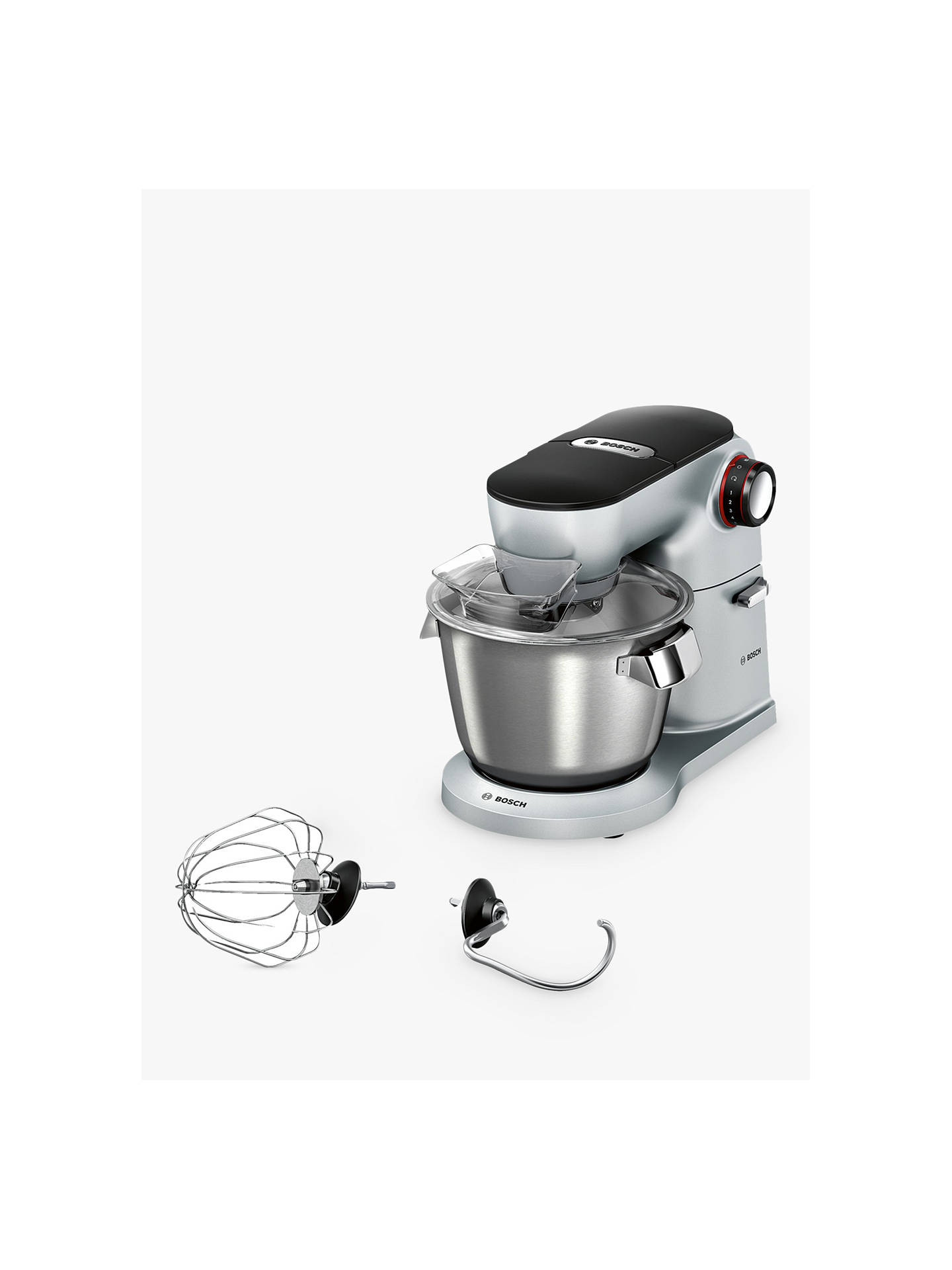 BuyBosch MUM9G32S00 OptiMUM Kitchen Machine Food Mixer, Silver Online at johnlewis.com