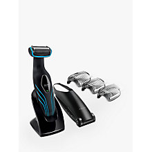Buy Philips BG2034/13 Series 5000 Body Groomer with Skin Comfort System and Back Attachment Online at johnlewis.com