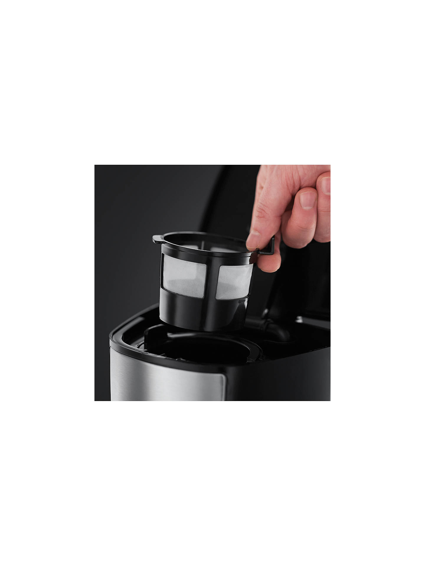 Russell Hobbs 22630 Brew Go Coffee Maker Silver