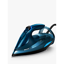 Buy Philips GC4938/20 Azur Advanced Steam Iron, Blue Online at johnlewis.com