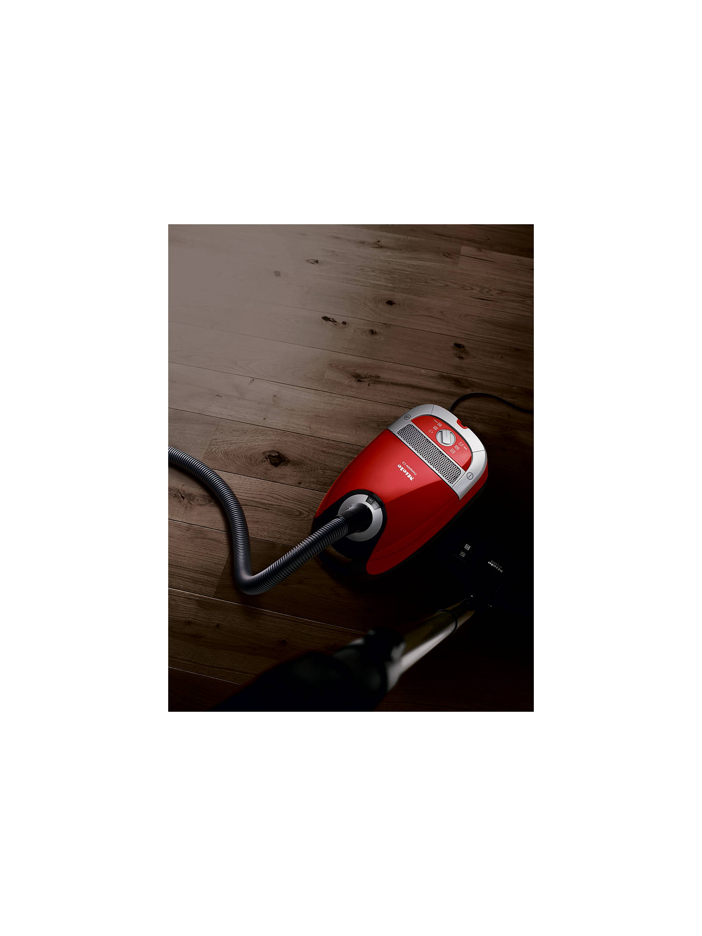 Miele Complete C2 Cat & Dog PowerLine Cylinder Vacuum Cleaner, Red
