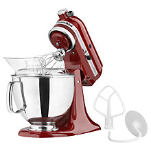 Buy KitchenAid 150 Artisan 4.8L Stand Mixer, Red Online at johnlewis.com