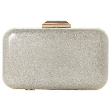 Buy Dune Beverlie Box Clutch Bag Online at johnlewis.com