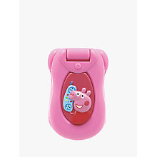 Buy Peppa Pig Peppa's Flip and Learn Phone Online at johnlewis.com