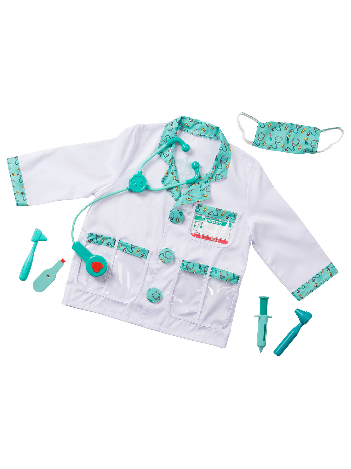 Melissa Doug Doctor Childrens Costume 3 4 Years At John Lewis