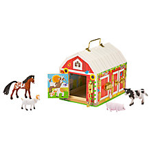 Buy Melissa & Doug Latches Barn Play Set Online at johnlewis.com