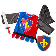 Buy Melissa & Doug Knight Dress Up Costume Online at johnlewis.com