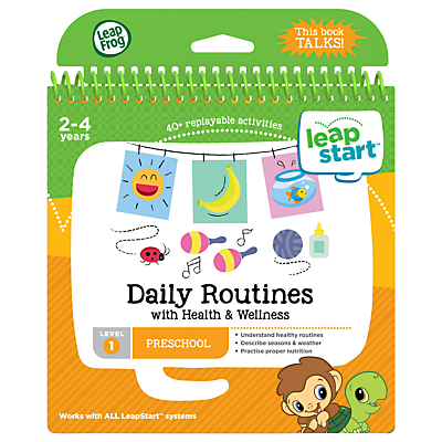 Image of LeapFrog LeapStart Daily Routines Activity Book