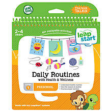 Buy LeapFrog LeapStart Daily Routines Activity Book Online at johnlewis.com